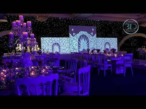 Wedding 3D Mapping - Amman, Jordan