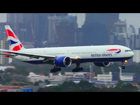 Which Airline Lands The Boeing 777 The BEST? | Sydney Airport Plane Spotting