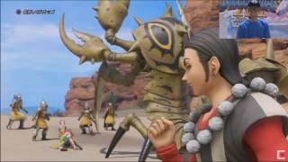 ドラゴンクエストXI PS4/3DS版 実機デモプレイ サマディー地方&ボス戦 / Dragon Quest XI Gameplay thumbnail