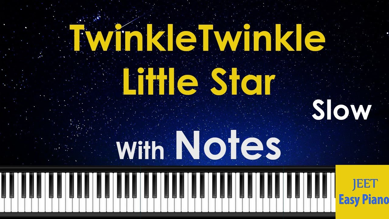 Easy piano songs for beginners twinkle twinkle little star youtube easy piano songs for beginners twinkle twinkle little star hexwebz Choice Image