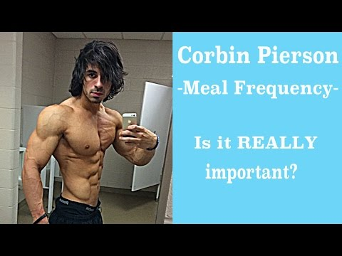 Corbin Pierson- Meal Frequency