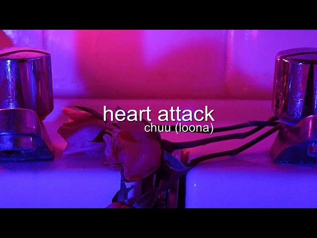chuu (loona) - heart attack but youre in a bathroom at a party!
