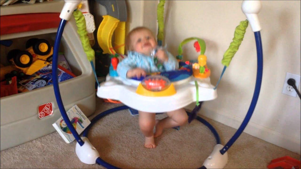 Fisher Price Ocean Wonders Jumperoo Wears Out Baby Michael