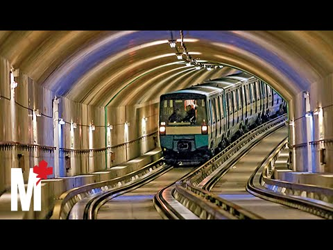 What it feels like to drive a train on Montreal's metro
