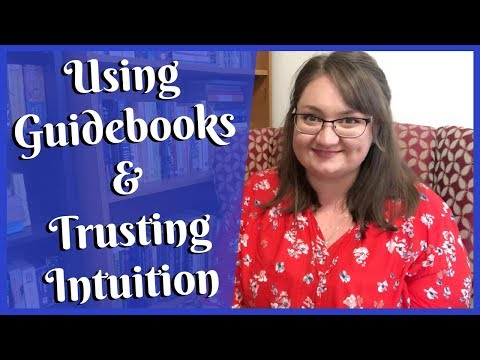How to trust your intuition and use guidebooks when learning to read Tarot  |  Tarot for Beginners