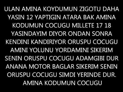 Kronos Huseyin [Mert Hazard] Diss PART 1 # YARRAK MAGDURU