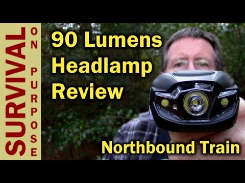 Budget LED Headlamp Review - Survival On A Shoestring