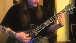 Death Lack of Comprehension Guitar Cover