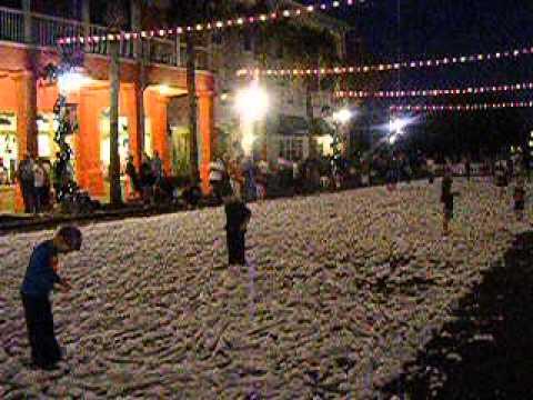 Celebration Florida Christmas celebration - YouTube