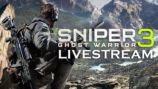 Sniper Ghost Warrior 3 Livestream thumbnail