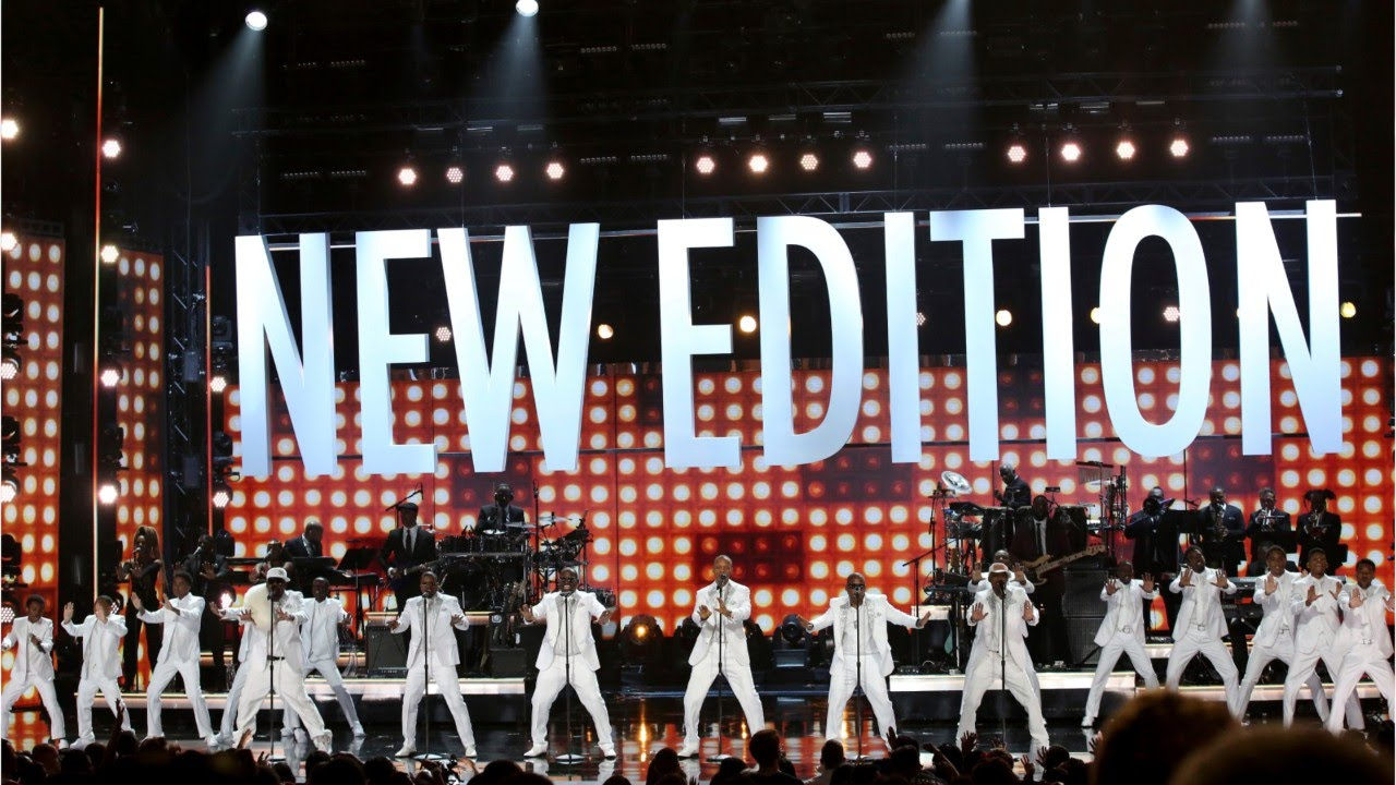 tribute to new edition on the bet awards