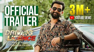 Prithviraj in Driving Licence Malayalam Movie Trailer 2019