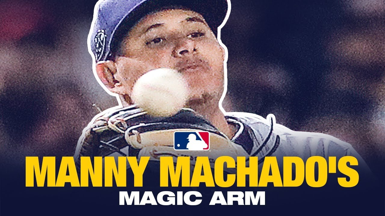 Manny Machado Magic Arm