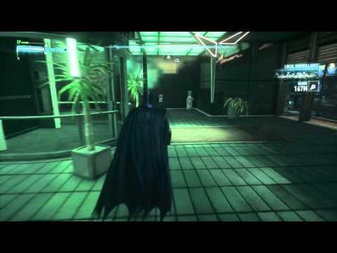 Inside Lexcorp building BATMAN: ARKHAM KNIGHT
