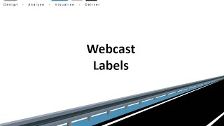 Civil Site Design - Webcast - Labels