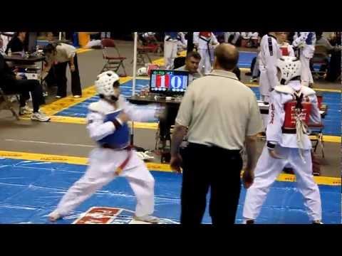 Ft Worth Taekwondo Tournament - Trenton - 102211 - 1st Match