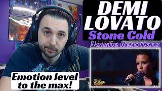 If you would like to support me on patreon, please visit: https://www.patreon.com/newfiereactionsdemi lovato - stone cold live reaction was an amazing live...