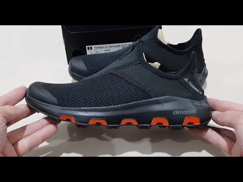Unboxing ADIDAS TERREX CLIMACOOL VOYAGER BB1899 OUTDOOR WATER SHOES (100% ORIGINAL ASLI & RESMI)