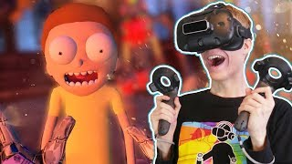MEETING MORTY IN VIRTUAL REALITY! | VRChat: Funny VR Moments (HTC Vive Gameplay)