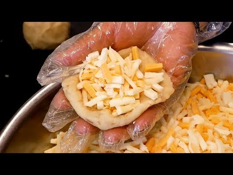 Cheese Croquette(Korokke) - Korean street food