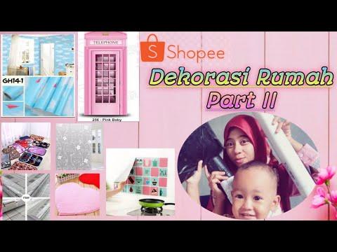 haul shopee dekorasi rumah part ii - youtube