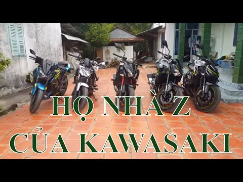 Giới thiệu dòng Z của Kawasaki (Z1000, Z900, Z800, Z650, Z300)