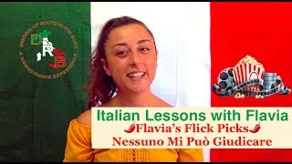 🇮🇹 Flavia's Flick Picks 🌶  Nessuno Mi Può Giudicare  Italian Film Review Advanced Italian Listening