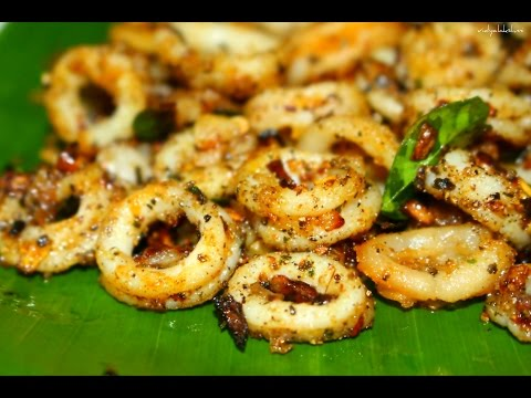 Crispy Peppered Calamari Recipe