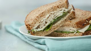 Turkey Caesar Sandwich- Martha Stewart