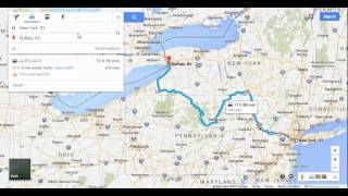 Google Maps Tips 10: Drag-and-Drop Alter Your Directions Free HD Video