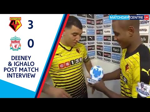 Watford 3-0 Liverpool : Troy Deeney & Odion Ighalo Post Match Interview
