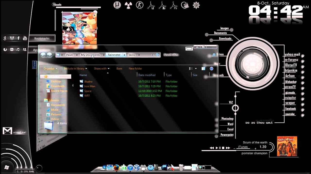 How To Customize Your Desktop Windows 7 And Where Get The Themes You