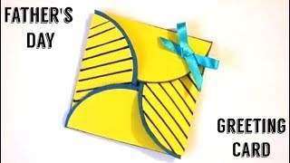 Father's day Greeting Card - Simple Origami Card making - Handmade Gifts Ideas - DIY Paper Crafts