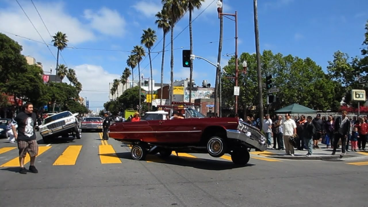 lowrider cars cesar chavez holiday parade 2014 mission district san francisco california youtube