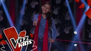 Heleng Sings Por Amarte Así - Blind Auditions  The Voice Kids Colombia 2019