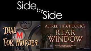 Hitchcock's Rear Window & Dial M For Murder (Side By Side)