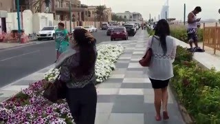 First Video Trip from Millenium Tower head to Burj Al-Arab Open Beach Dubai #mydubai