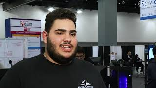 Student Interview at FETC: Eddy J. Talks About his Experience with Scholastic Esports