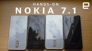 Nokia 7.1 Hands-On: midrange phone with high style and serious specs
