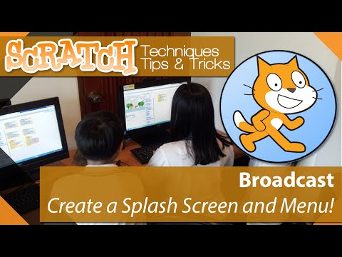 Scratch - Tutorial 07 - Create a Game Menu and Splash screen using