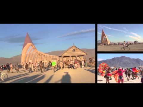 Burning Man 2015 : the Temple from Build to Burn