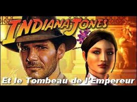 INDIANA JONES et Le Tombeau De L'Empereur Film Game Complet PC