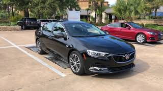 2018 Buick Regal Sportback On The Road