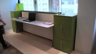 Cabrio In Desk | Resource Furniture | Wall Bed Systems