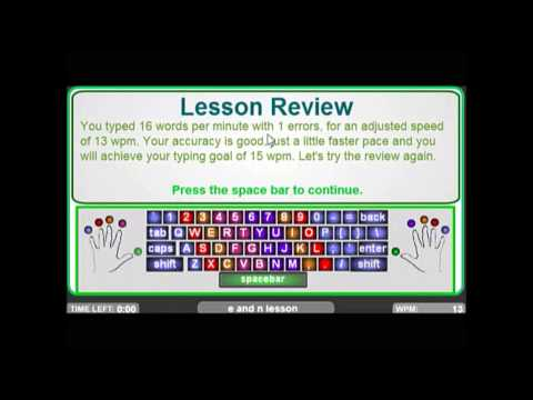Typing Lessons Episode 1