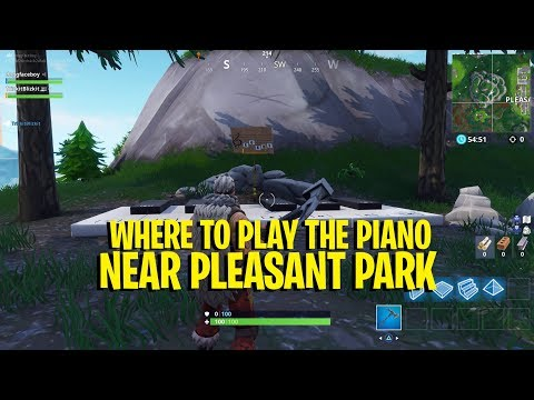 'Fortnite' Pleasant Park Piano Location And How To Play It
