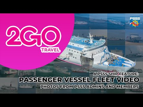 SHIP FEATURE | 2GO Travel Passenger Vessel Fleet Video (ex-SuperFerry, NENACO, WG&A)