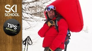 Setting off an Avalanche Air Bag - Advanced Tips for Powder Skiing