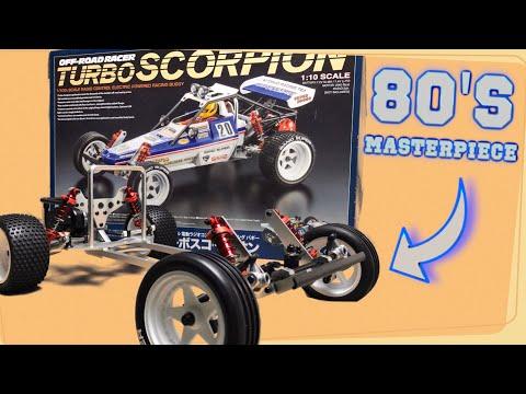The Nicest RC Car I've Ever Built!! - [Kyosho Turbo Scorpion] NIB Brushless Build.