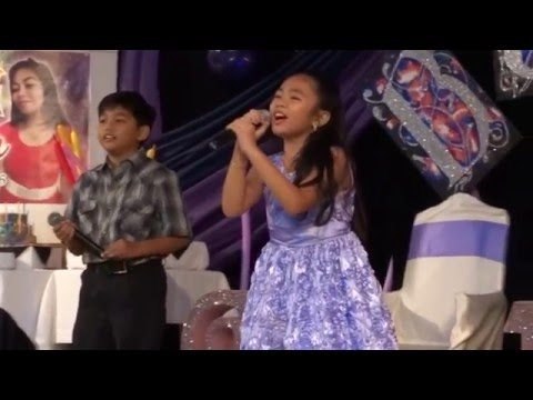Just A Fool - Christina Aguilera ft  Blake Shelton by Bernice Shane & Lawrence @ Bea's 18th Bday